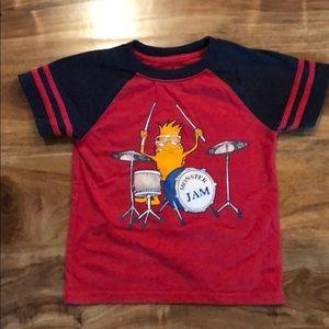 Boys 4 for $12 monster jam t-shirt